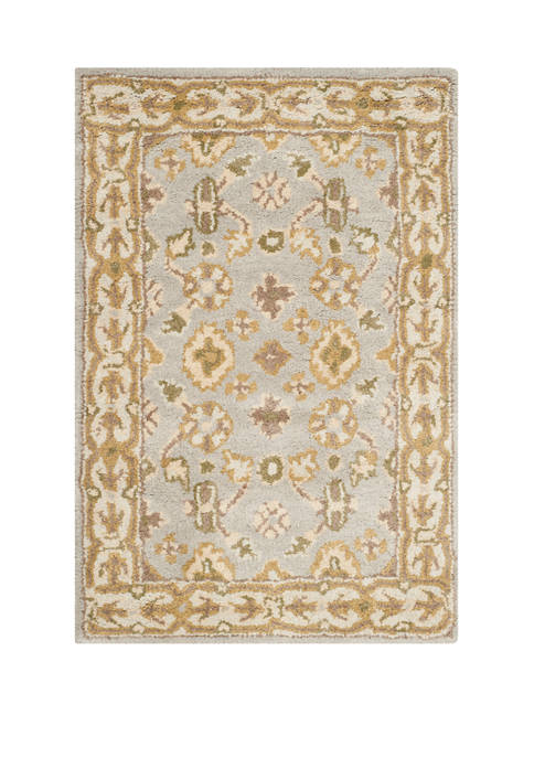 Classic Botanical Inspired Area Rug Collection