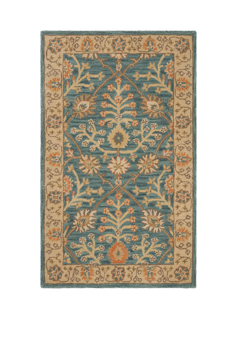 Classic Authentic Taznakht Tile Area Rug Collection