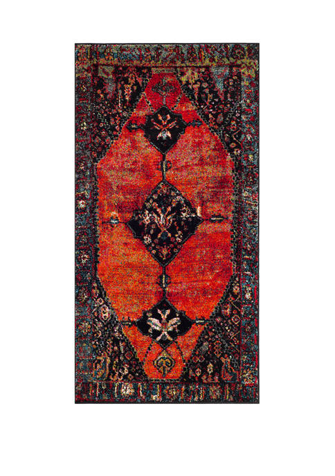 Vintage Hamadan  Power Loomed Accent Area Rug Collection
