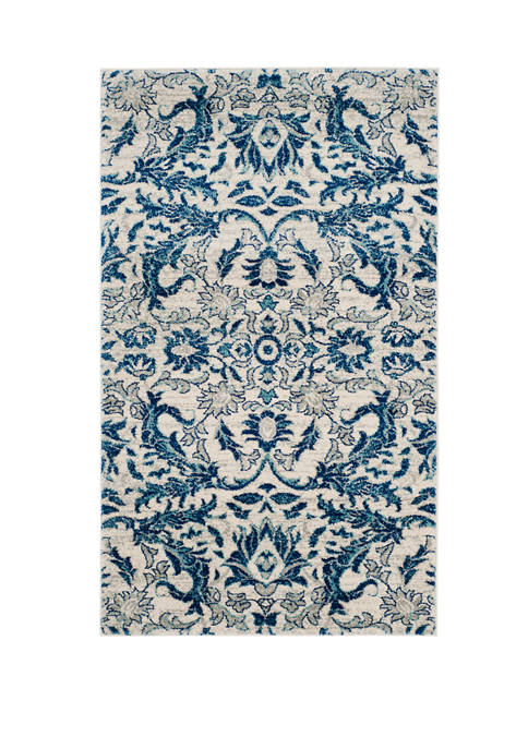Evoke Contemporary Ivory Area Rug Collection