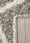 Hudson Shag Grande Square Lattice Area Rug Collection