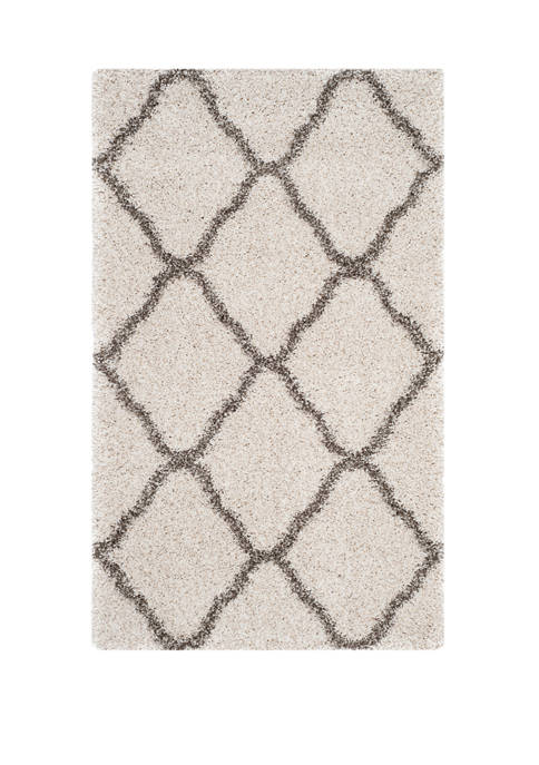 Safavieh Hudson Shag Moroccan Quatrefoil Area Rug Collection