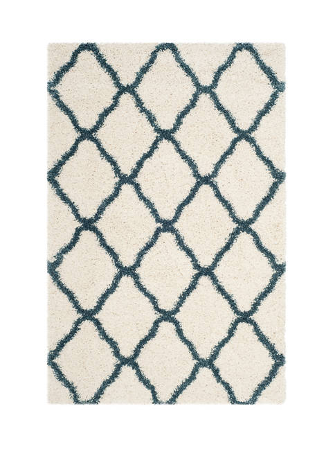 Safavieh Hudson Shag Moroccan Quatrefoil Area Rug Collection