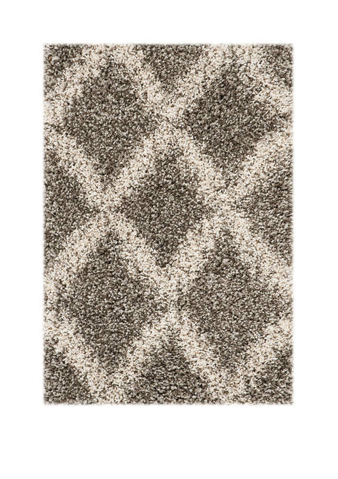 Safavieh Hudson Shag Shaggy Diamond Area Rug Collection