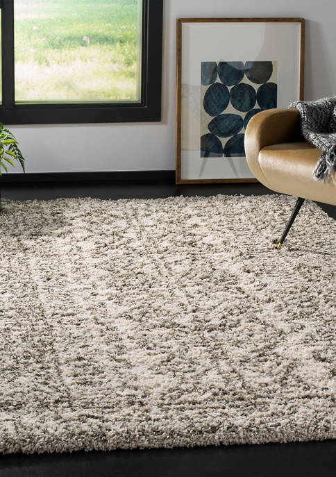 Hudson Shag Chic Geometric Moroccan Area Rug Collection