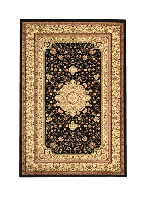 Safavieh Lyndhurst Black/Ivory Chenar Area Rug Collection