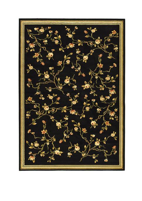 Safavieh Lyndhurst Floral Black Area Rug Collection