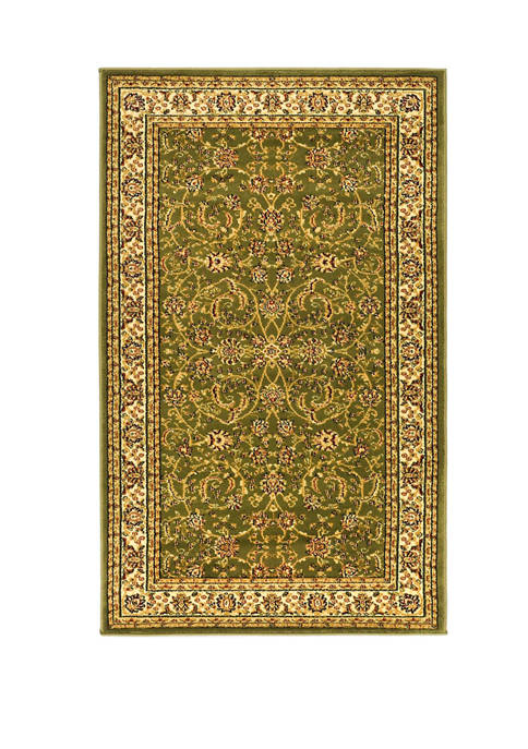 Safavieh Lyndhurst Traditional Black/Ivory Area Rug Collection