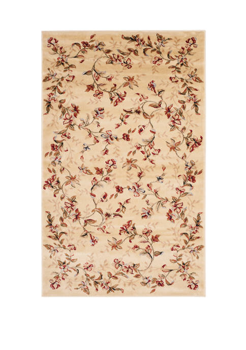Safavieh Lyndhurst Beige Floral Area Rug Collection