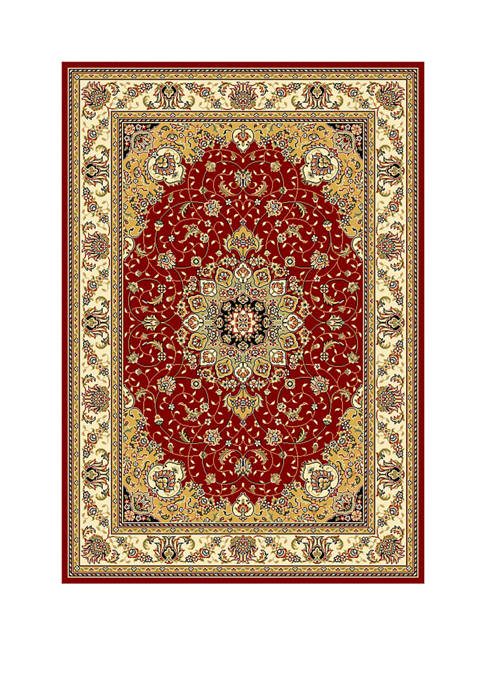 Safavieh Lyndhurst Black/Ivory Kazvin Area Rug Collection