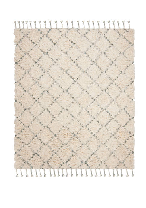 Kenya Rustic Plush with Tassel Area Rug Collection