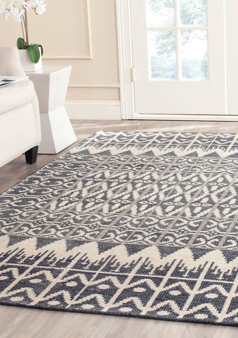 Safavieh Kenya Handmade Charcoal Premium Wool Area Rug