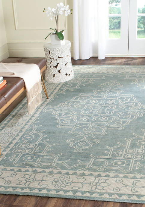 Kenya Hand Knotted Wool Pile Area Rug Collection