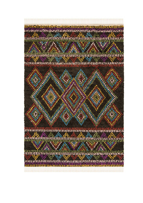 Kenya Multicolored Symmetrical Area Rug Collection