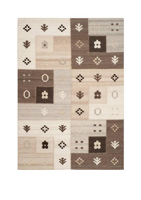 Kenya Symbols Piled High Area Rug Collection