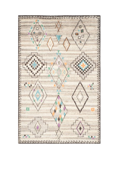 Kenya Hand Knotted Medium Rectangle Area Rug Collection