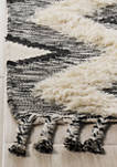 Kenya Bold Diamonds with Tassels Area Rug Collection