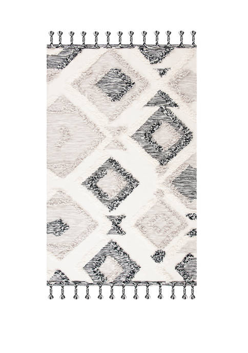 Safavieh Kenya Gray/Black Chic Area Rug Collection