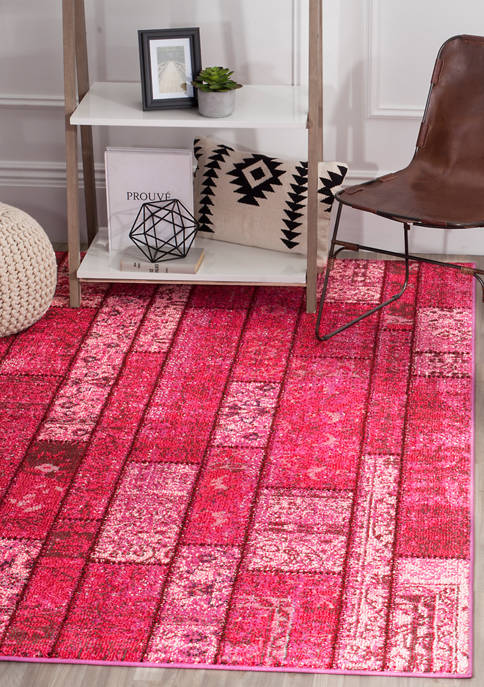 Monaco Synthetic Power Loomed Geometric Area Rug Collection