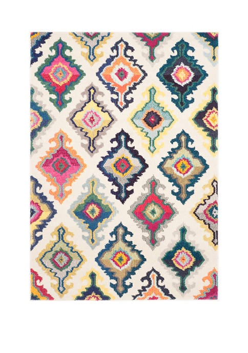 Monaco Mutil-Colored Oriental Weaves Area Rug Collection