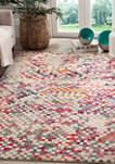 Monaco Abstract Pixels Area Rug Collection