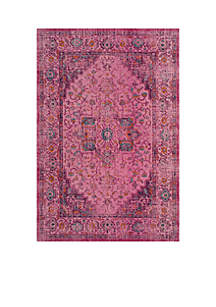 Artisan Fuchsia/Pink 5-ft. 1-in. x 7-ft. 6in. Area Rug