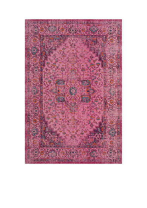 Artisan Fuchsia/Pink 6-ft. 7-in. x 9-ft. Area Rug