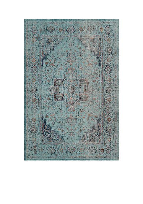 Artisan Light Blue 6-ft. 7-in. x 9-ft. Area Rug