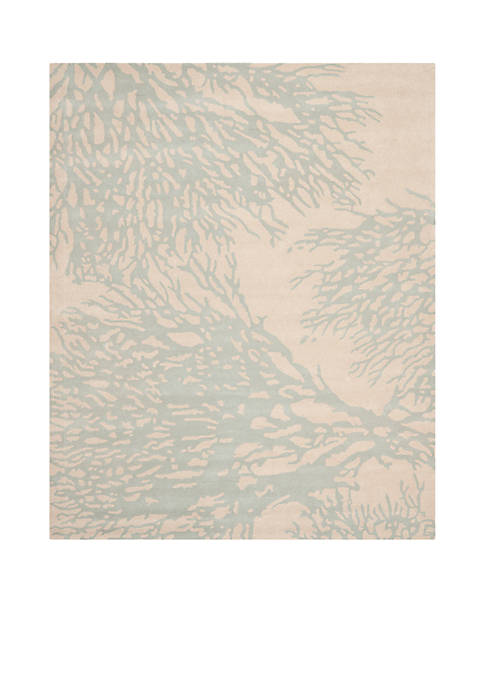 Safavieh Bella Beige/Blue 5-ft. x 8-ft. Area Rug