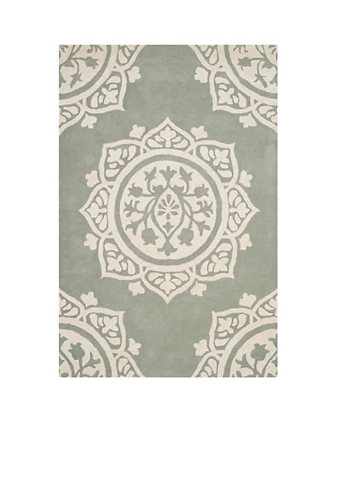 Safavieh Bella Gray/Ivory 2-ft. 6-in. x 4-ft. Area