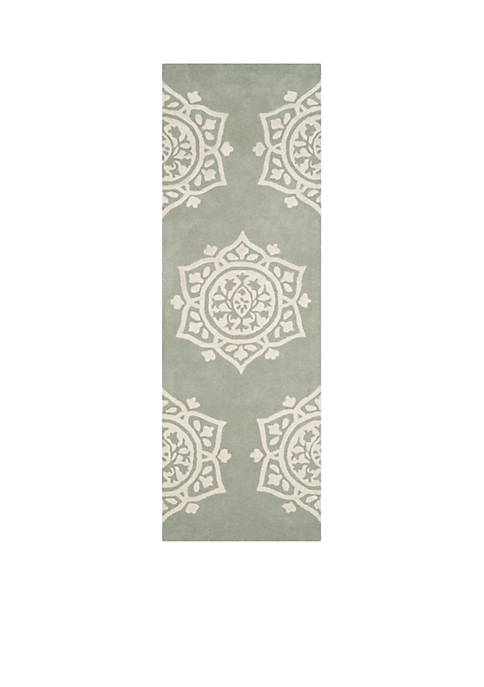 Bella Gray/Ivory 2-ft. 3-in. x 7-ft. Area Rug