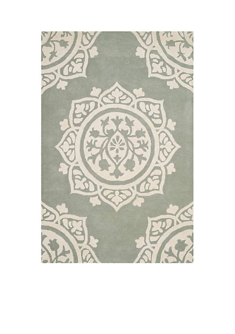 Safavieh Bella Gray/Ivory 4-ft. x 6-ft. Area Rug