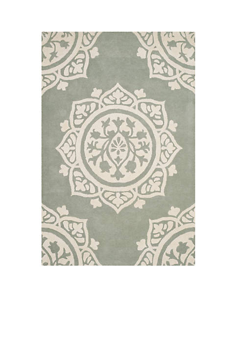 Safavieh Bella Gray/Ivory 8-ft. x 10-ft. Area Rug