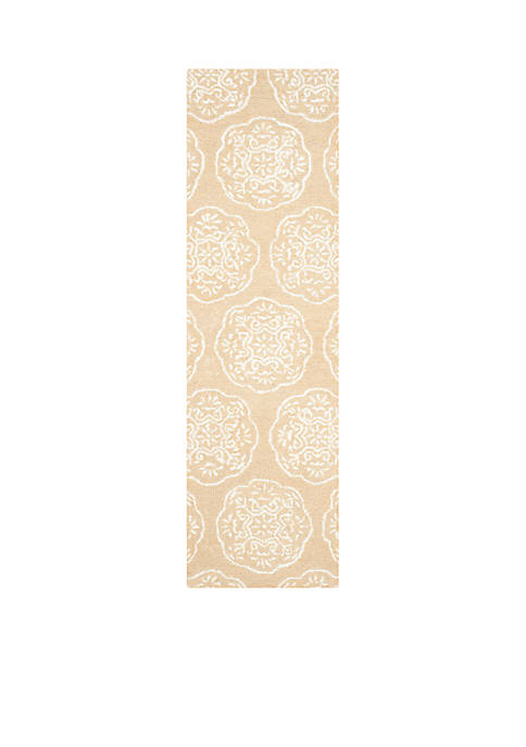 Safavieh Bella Beige/White Area Rug 2-ft. 3-in. x