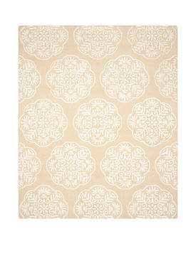 Bella Beige/White Area Rug 8-ft. x 10-ft.