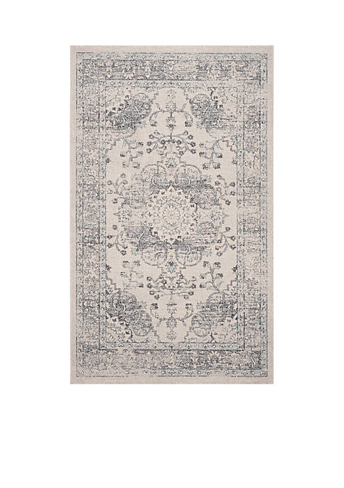Safavieh Carmel Beige/Blue 4-ft. x 6-ft. Area Rug