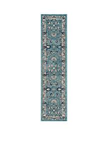 Safavieh Carmel Turquoise/Beige Area Rug