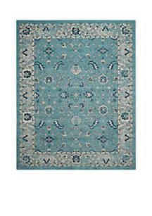 Safavieh Carmel Turquoise/Beige 8-ft. x 10-ft. Area Rug