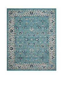 Safavieh Carmel Turquoise/Beige 9-ft. x 12-ft. Area Rug
