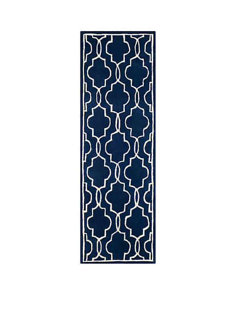 Chatham Dark Blue/Ivory 2-ft. 3-in. x 5-ft. Area Rug