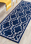 Chatham Dark Blue/Ivory 2-ft. 3-in. x 7-ft. Area Rug