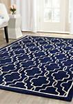 Chatham Dark Blue/Ivory 3-ft. x 5-ft. Area Rug