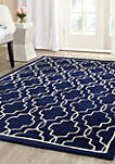 Chatham Dark Blue/Ivory 4-ft. x 6-ft. Area Rug