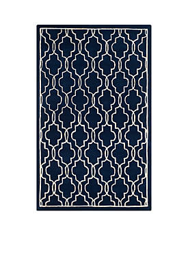 Chatham Dark Blue/Ivory 8-ft. 9-in. x 12-ft. Area Rug