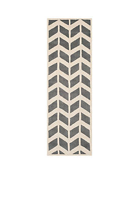 Chatham Dark Gray/Ivory 2-ft. 3-in. x 7-ft. Area Rug