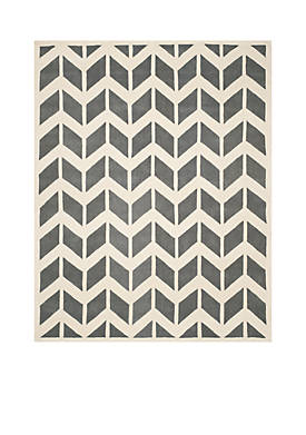 Chatham Dark Gray/Ivory 8-ft. 9-in. x 12-ft. Area Rug