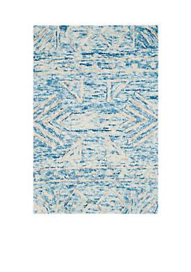 Chatham Blue/Ivory 2-ft. x 3-ft. Area Rug