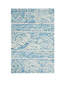 Chatham Blue/Ivory 4-ft. x 6-ft. Area Rug