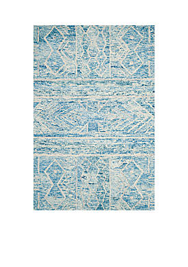 Chatham Blue/Ivory 6-ft. x 9-ft. Area Rug