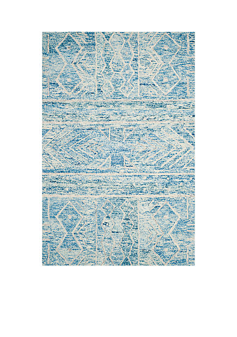 Safavieh Chatham Blue/Ivory 6-ft. x 9-ft. Area Rug